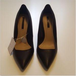 "Zara Womens Black 4"" Heels Size 36 Euro 6 US 3 UK"